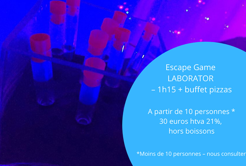 Laborator escape game Nivelles