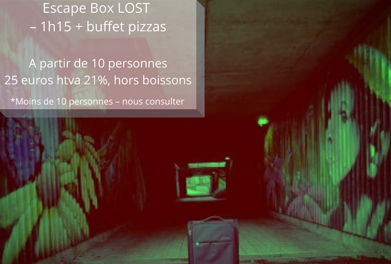Lost escape game Nivelles