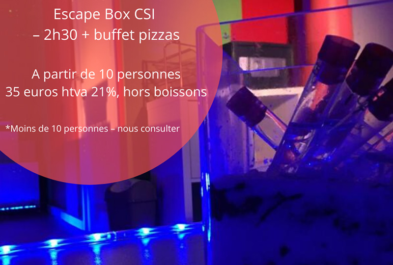 CSI - Les Experts escape game Nivelles